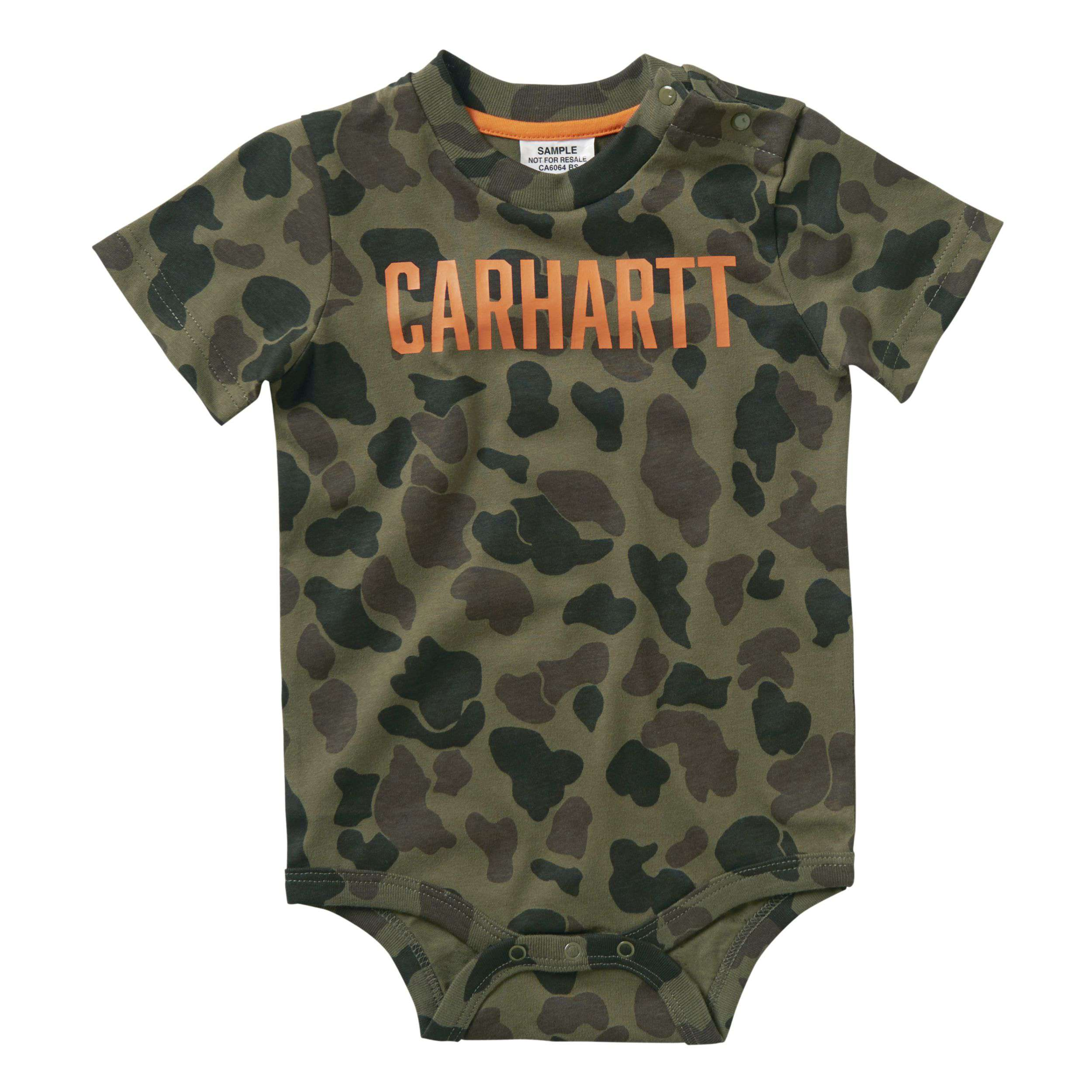 Carhartt Short-Sleeve Camo Printed Bodyshirt