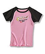 Girls' Raglan Tee