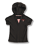 Girls Hooded Raglan