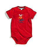 Infant Boys Farm Animal Stack Bodyshirt