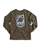 Boy�s Born In The Wild Graphic Long-Sleeve T-Shirt