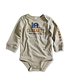 Infant/Toddler Boy's Dad's Little Farmer Lap Shoulder Bodyshirt
