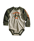 Infant/Toddler Boy�s Off Road Graphic Raglan Bodyshirt