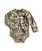 Infant/Toddler Boy�s Brown Camo Logo Bodyshirt