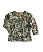 Infant/Toddler Boy�s Green Camo Logo T-Shirt