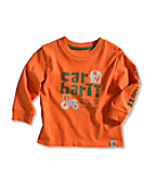 Infant/Toddler Boy�s On The Farm Logo T-Shirt