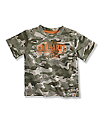 BOY'S CAMO BUILT 2 LAST T-SHIRT