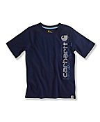 BOY'S LOGO BOLTS T-SHIRT