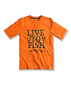 BOY'S LIVE 2 FISH T-SHIRT