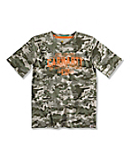 BOY'S CAMO WORK CREW T-SHIRT