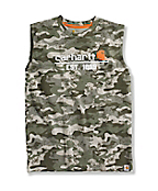 BOY�S SLEEVELESS CAM T-SHIRT
