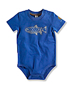 INFANT BOY'S FLY FISHING CAMP BODYSHIRT