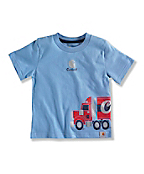 INFANT BOY'S TRUCK WRAP T-SHIRT