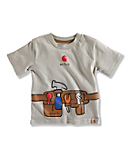 INFANT BOY'S TOOL BELT T-SHIRT