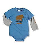Infant Toddler Boy's Layered Sleeve Bodyshirt