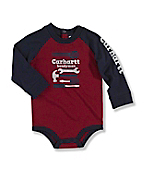 Infant Toddler Boy's Raglan Bodyshirt