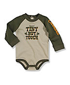 Infant Toddler Boy's Raglan Bodyshirt