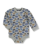Infant Toddler Boy's Printed Bodyshirt