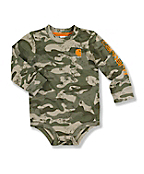 Infant Toddler Boy's Camo Logo Bodyshirt
