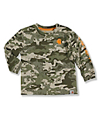 Infant Toddler Boy's Camo Logo T-Shirt