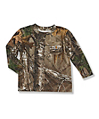 Infant Todder Boy's Camo Pocket T-Shirt