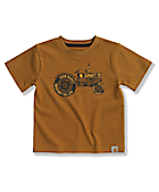 Infant Toddler Boys' Retro Tractor T-Shirt