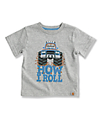 Infant Toddler Boys'  How I Roll T-Shirt