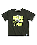Infant Toddler Boys' Fishing is My Sport T-Shirt