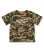 Infant Toddler Boys' Camo T-Shirt