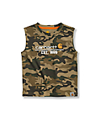 Infant Toddler Boys' Camo Sleeveless T-Shirt