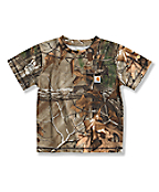 Infant Toddler Boys' Work Camo Pocket T-Shirt