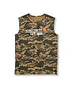 Boys' Carhartt Core Logo Sleeveless T-Shirt