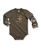 Infant/Toddler Boys' Layered Sleeve Bodyshirt
