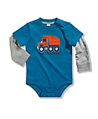 Boys' Infant/Toddler Layered Sleeve Bodyshirt