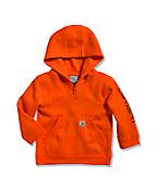 Infant/Toddler Boys' Logo Fleece Quarter Zip Sweatshirt