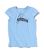 Girls Cap Sleeve Tee