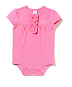 Girls Infant Ruffle Henley Bodyshirt