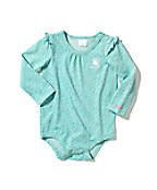 Infant Girl's Flutter-Sleeve Bodyshirt