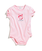Infant Girls Camo Pig Bodyshirt