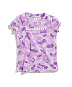 Toddler Girls Printed Camo Tee