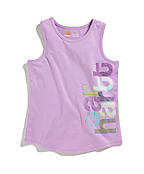 Girls Logo Sleeveless Racerback Tank