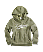 Girl�s Cozy Hooded Sweatshirt