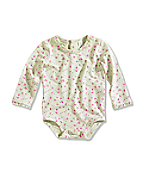 Infant/Toddler Girls' Long-Sleeve Bodyshirt