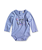 Infant/Toddler Girl�s deer To Me Long-Sleeve Bodyshirt