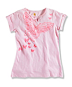 GIRL'S BUTTERFLY T-SHIRT