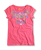 GIRL'S RIDE PRIDE SCOOP T-SHIRT