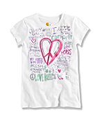 GIRL'S LOVE T-SHIRT