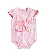 INFANT GIRL'S TICKLED BODYSHIRT