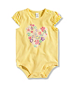 INFANT GIRL'S HEART BODYSHIRT