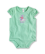INFANT GIRL'S ANIMAL BODYSHIRT